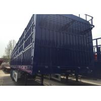 Logistic Industry Tri Axle Semi Tipper , Cargo  Semi Low Bed Trailer Manufactures