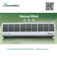 Natural Wind Series Air Curtain In ABS Plastic Cover RC And Door Switch Available Manufactures