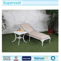 China Folded Modern Patio Bistro Set Lightweight Folding Beach Lounge Chair and Table on sale
