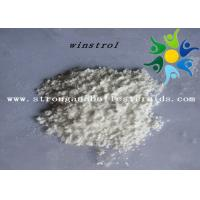 China CAS 10418-03-8 USP Oral Legal Anabolic Steroids High Purity Winstrol Raw Powder on sale