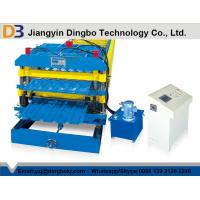 Full Automatic Double Layer Roof Panel Roll Forming Machine Easy To Operation Manufactures