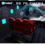 5D Movie Theater Equipment Simulator , 6 Seats Film Shooting Equipment Manufactures