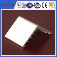 Quality 6063 aluminium angle extrusion profiles for solar panel frame for sale