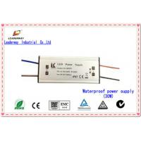 IP67 Waterproof High-efficiency 15W 320mA LED power supply, 90-264V AC Input Voltage Manufactures