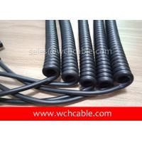 UL Curly Cable, AWM Style UL21824 13AWG 3C FT2 80°C 600V, PVC / TPE Manufactures