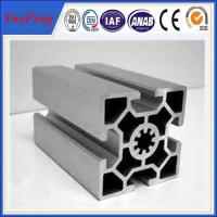 Hot! aluminum profile section producting line industrial aluminum extrusion 40x40 profile Manufactures
