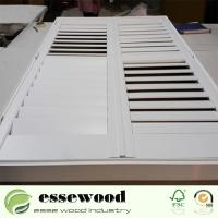 Horizontal Opening Pattern Polycore or Basswood Customized Plantation Shutters Manufactures