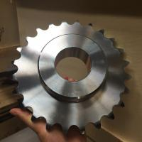 factory price high quality carbon steel simplex plate wheels roller chain sprocket 12B24 Manufactures