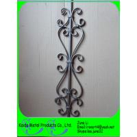 Quality wrought iron baluster, stair balusters, balustrade, fence for sale