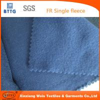 Quality 16 CFR 1610 100% cotton durable flame retardant flannel FR fleece fabric | Flame retardant for sale
