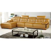 L.S01D Leather Sofa Set Manufactures