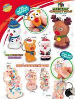 Buy cheap OEM christmas eye pop out key chains & soft jelly keychain from wholesalers
