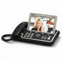 VP530 Business IP Video Phone with Touchscreen and HD Voice, Supports 3-way Audio Conferencing Manufactures