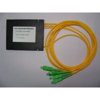 PC, UPC, APC Polishing 1-3 FBT Fiber Optic Splitter Available with FC, SC, ST, LC and MU Adapters Manufactures