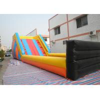 Huge Outdoor Inflatable Toys Zorb Ball Track , Commercial Inflatable Zorb Ramp Manufactures