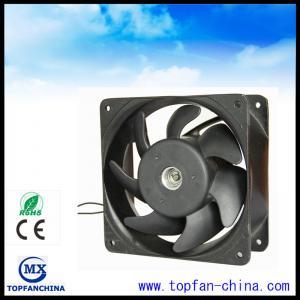 Industrial Plastic Impeller 220 Volt AC Ventilation Fans With Aluminum Frame