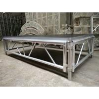 4*8 Feet Assembly Outdoor Used Portable Anti slip Aluminum and Wooden Wedding Stage Manufactures