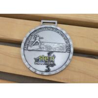 China Round Soft Enamel 3D Gold Boxing Race Metal Medal With Neck For Promotional Gifts on sale