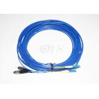 Low Insertion Loss Value Optical Fiber Patch Cord FC - LC Duplex For Local Area Networks Manufactures