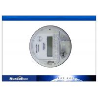 ANSI Standard Socket Power Meter , LCD Simulation Disk Three Phase Energy Meter Manufactures