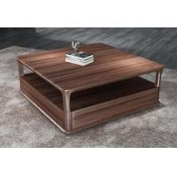 2017 New Walnut Wood Case Good Furniture Design Living room Coffee table& Tea table with Storage side Drawers Manufactures