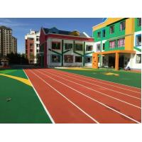 Universities Rubber Running Track Surface Without Contain Of Heavy Metal Manufactures