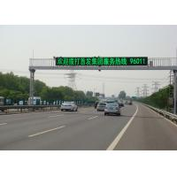 China Corrosion Resistant P20 Programmable Scrolling LED Sign For Road Driving on sale