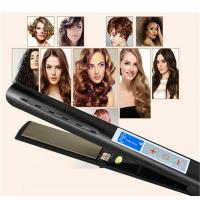 China Meraif Professional Titanium Flat Iron Hair Straightener with Digital LCD Display,Dual Voltage online on sale