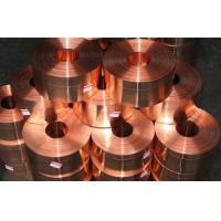 High Precision Copper Strip C1100 0.01mm - 2mm , Copper Coils Manufactures