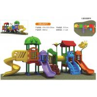 China Durable Safe Toddlers Small Combined Outdoor Swing Amusement Park Slide Playground For Sale. on sale