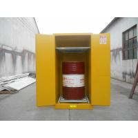 Yellow Industrial Flammable Safety Cabinets For Oil / Chemical Liquid Storage Manufactures