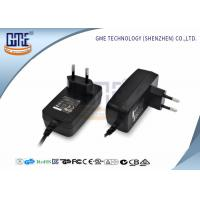 EU Plug AC DC Switching Power Supply Wall With GS Certificate Manufactures