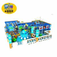 Shopping Mall Kids Soft Indoor Playground Equipment / Commercial Play Slide Manufactures