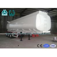 Q345 Carbon Steel Stainless Steel Tanker Trailers With Water Tank Manufactures