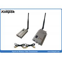 China 900Mhz Wireless Transmitter And Receiver Long Range 3-4km For CCTV Surveillance on sale