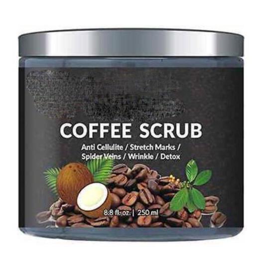 Quality Private Label Natural Body Scrub Organic Arabica Coffee Skin Care Body Scrub for sale