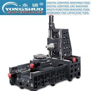 1360*700mm Horizontal CNC Lathe Horizontal CNC Miller Box Way CNC Milling Machine Center Manufactures