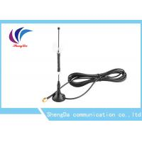 China Magetic Base 4G LTE Antenna Terminal 50W 698-2700Mhz SMA Connector 3m Cable on sale