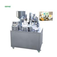 China Cosmetics Composite Aluminum Tube Filling And Sealing Machine 304 Stainless Steel Parts on sale