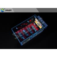 Minitype Thrilling Action Ride Imax Movie Theaters Interactive 5D Cinema With Cabin Manufactures