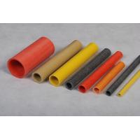China Red / Yellow FRP Tubing Pultruded Part Tube Anti Alkali on sale