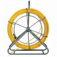 China Galvanized Electrical Cable Reel Stands FRP Duct Rodder Duct Rodding Fiberglass Snake Rod on sale