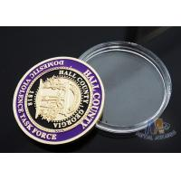 Multi Colored Sports Challenge Coins , Durable Custom Commemorative Coins Manufactures