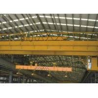 China Electric Traveling Overhead Crane Bridge Crane with Carrier Beam Spreader Clamp for Sale on sale