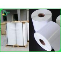 Quality Tear Resistant Polyethylene PE Coated Paper For Adhesive Sticker Waterproof for sale