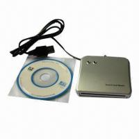 China Smart Card Reader for Mac, Can Read/Write, Smart Chip and ATM/SIM Cards on sale