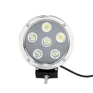 High Intensity 5.5'' Black Round Led Fog Driving Lights 9 - 36v 60W Waterproof IP68 Manufactures