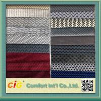 Wholesale Micro Suede Polyester Auto Upholstery Fabric / Car Upholstery Fabrics for Seat Cover Manufactures