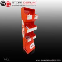 toys and staionery corrugated cardboard display with trays shelf Manufactures
