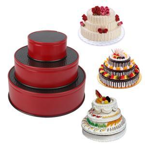 """Nonstick Leakproof 3pcs(4""""/7""""/9"""") Springform Pan set, Cake Pan Bakeware Cheesecake Pan with 4pcs Egg Tart Mold Manufactures"""
